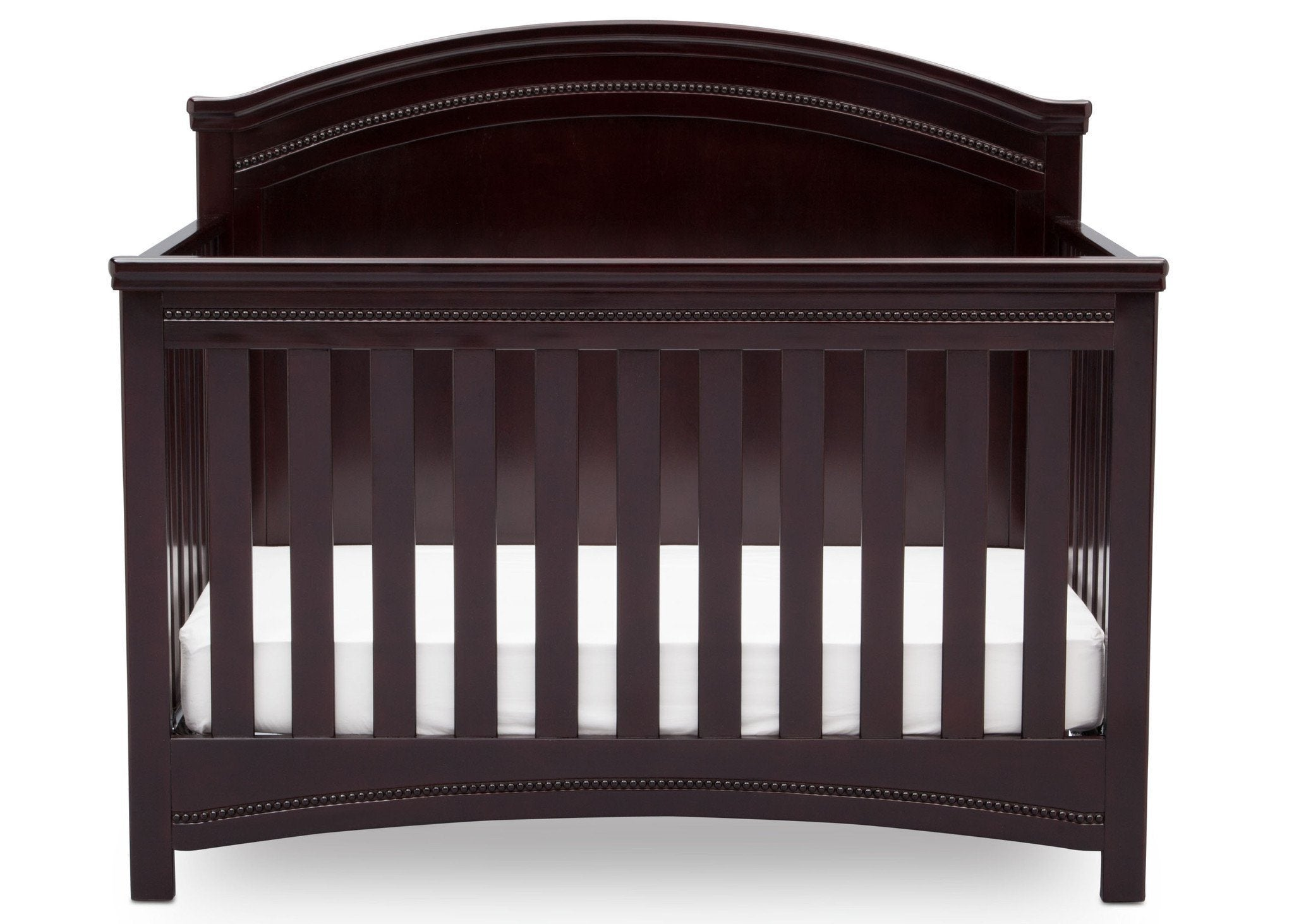 Simmons Kids Black Espresso (907) Emma Crib 'N' More Front Facing View b2b