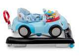Delta Children Blue (2096) First Race 2-in-1 Baby Walker, Side Floor Silo View