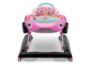 Delta Children Pink (2097) First Race 2-in-1 Baby Walker, Front Silo View