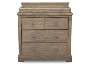 Simmons Kids Rustic Driftwood (112) Paloma 4 Drawer Dresser, Front View