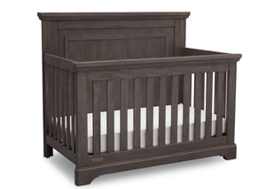 Simmons Rustic Grey (084) Paloma 4-in-1 Convertible Crib (328150), Silo Crib, a3a