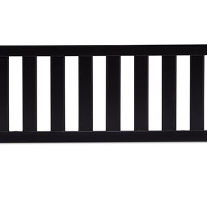 Simmons Kids Ebony (0011) Toddler Guardrail, Front View a1a