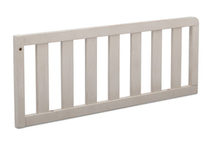 Simmons Kids Antique White (122) Toddler Guardrail, Angled View b2b