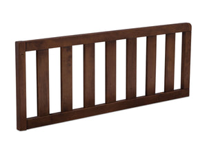 Simmons Kids Antique Chestnut (2100) Toddler Guardrail, Angled View d2d