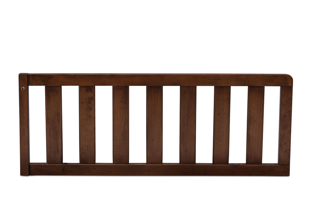 Simmons Kids Antique Chestnut (2100) Toddler Guardrail, Front View d1d  for Tivoli Crib 'N'More