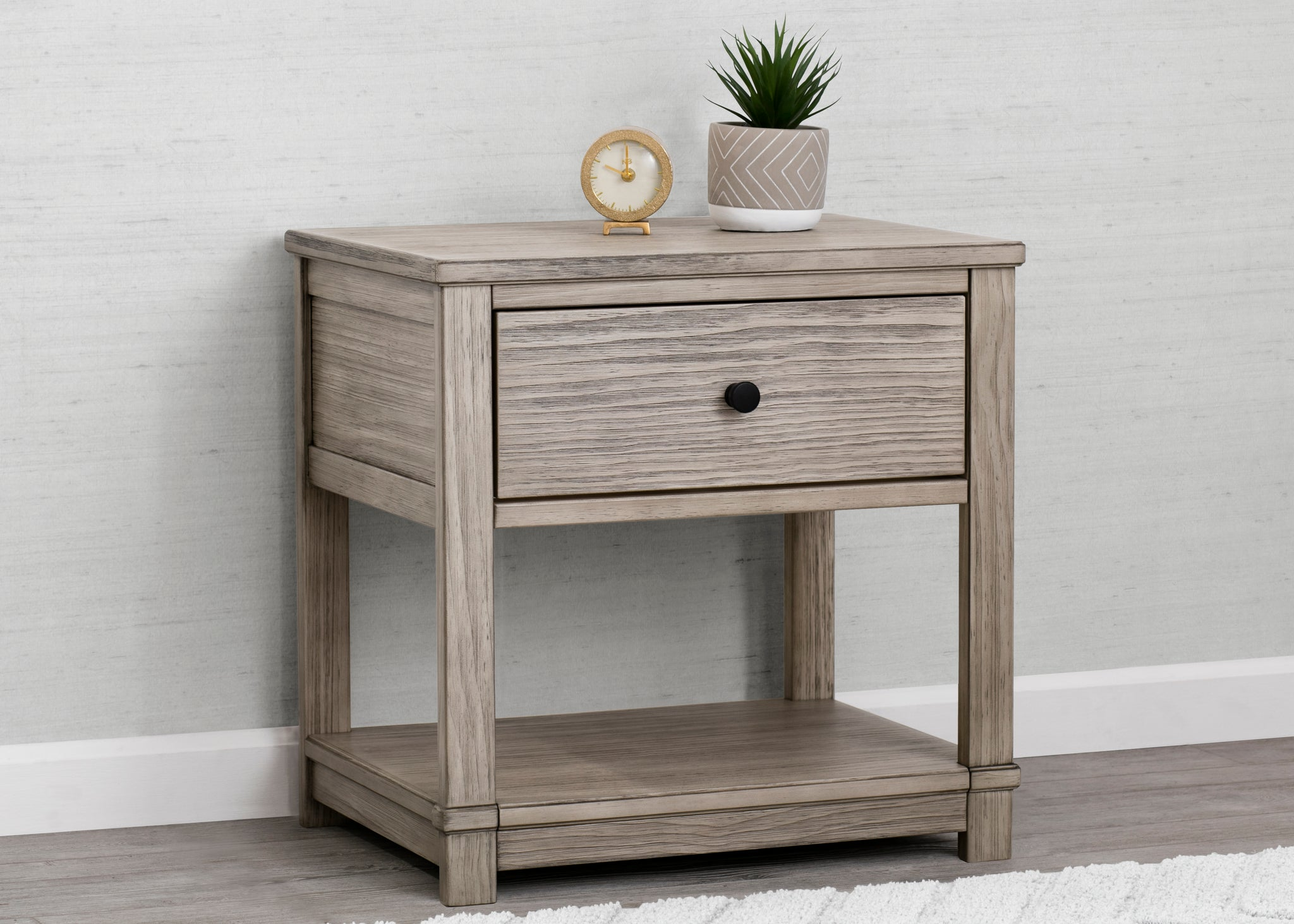 Simmons Kids Rustic White (119) Monterey Nightstand