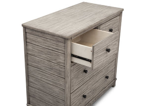 Simmons Kids, Rustic White (119), monterey 4 drawer dresser with changing top, drawer view b4b