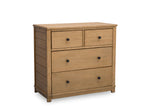Simmons Kids Rustic Rye (754) Monterey 4 Drawer Dresser with Changing Top, Hangtag c2c