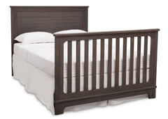 Simmons Kids Rustic Grey (084) Monterey Crib 'N' More, Full-Size Bed Conversion a6a