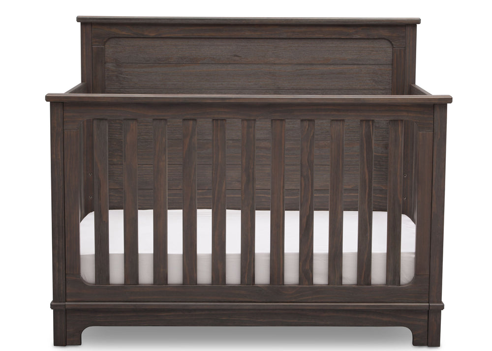 Simmons Kids Rustic Grey (084) Monterey Crib 'N' More Room View a2a