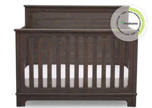 Simmons Kids Rustic Grey (084) Monterey Crib 'N' More Room View a2a with badge