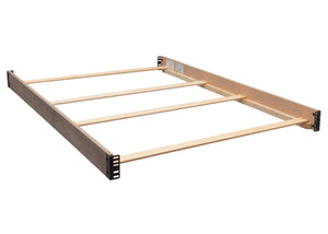 Simmons Kids Rustic White (119) Full Size Wood Bed Rails (330750), b1b