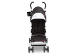 Delta Children Black with Bright Burgundy (488) J is for Jeep Brand North Star Stroller, Front View a3a