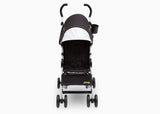 Delta Children Black with Mellow Yellow (731) J is for Jeep Brand North Star Stroller, Right Side View b1b