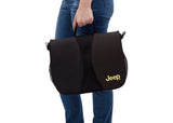 Delta Children Black with Mellow Yellow (731) J is for Jeep Brand North Star Stroller, Parent Bag View b3b