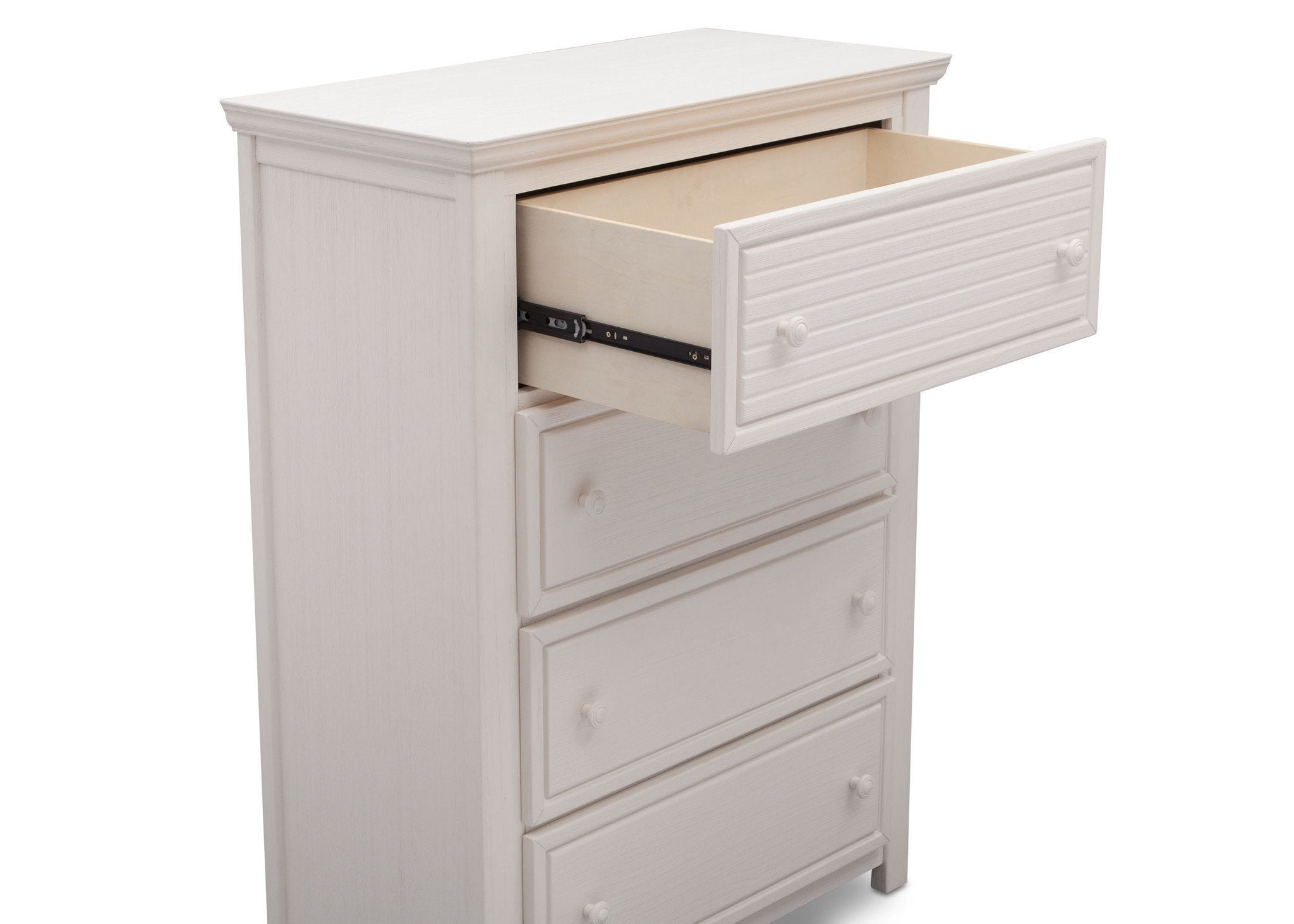 Simmons Kids Rustic Bianca (170) Oakmont 4 Drawer Chest Detail View a4a
