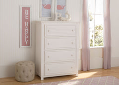 Simmons Kids Rustic Bianca (170) Oakmont 4 Drawer Chest Room View a1a