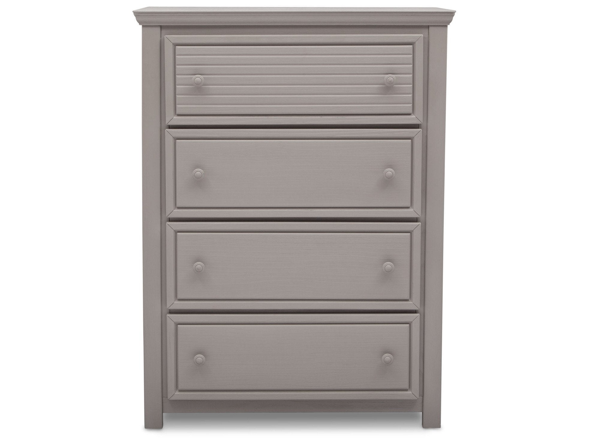 Simmons Kids Rustic Haze (940) Oakmont 4 Drawer Chest Front View b1b