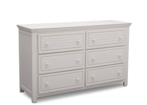 Simmons Kids Rustic Bianca (170) Oakmont 6 Drawer Dresser, Side View a3a
