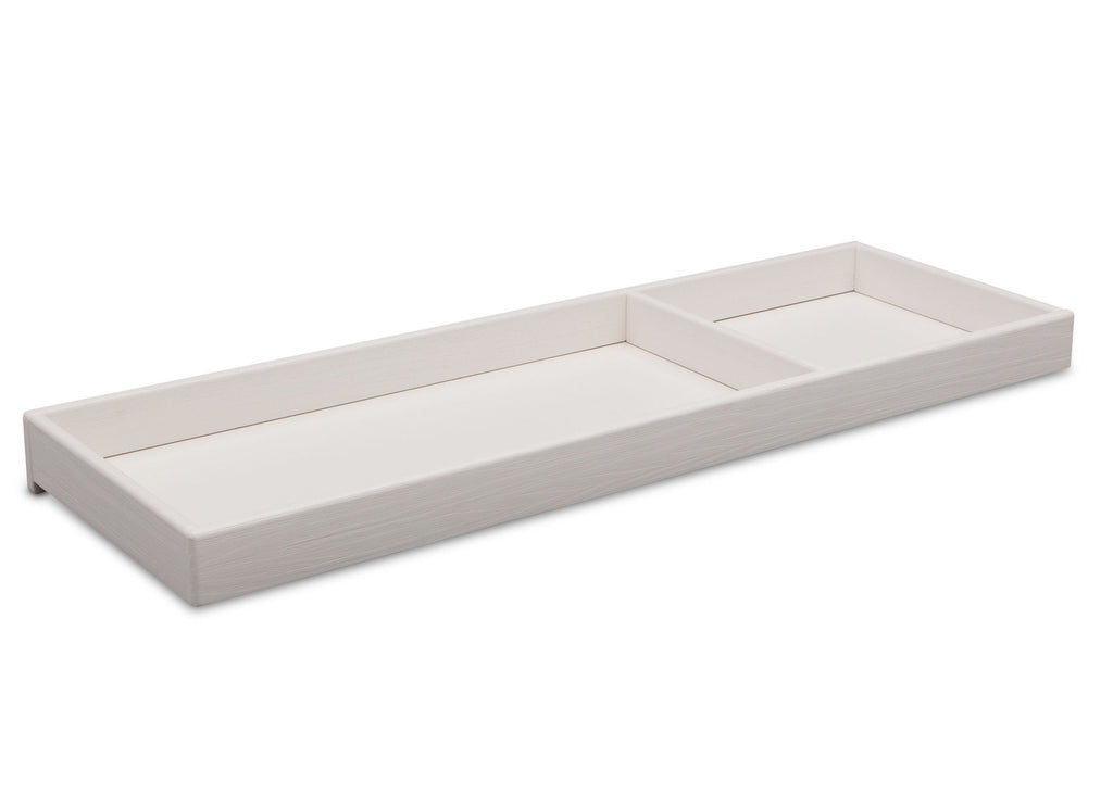 Simmons Kids Rustic Bianca (170) Changing Tray side view a2a