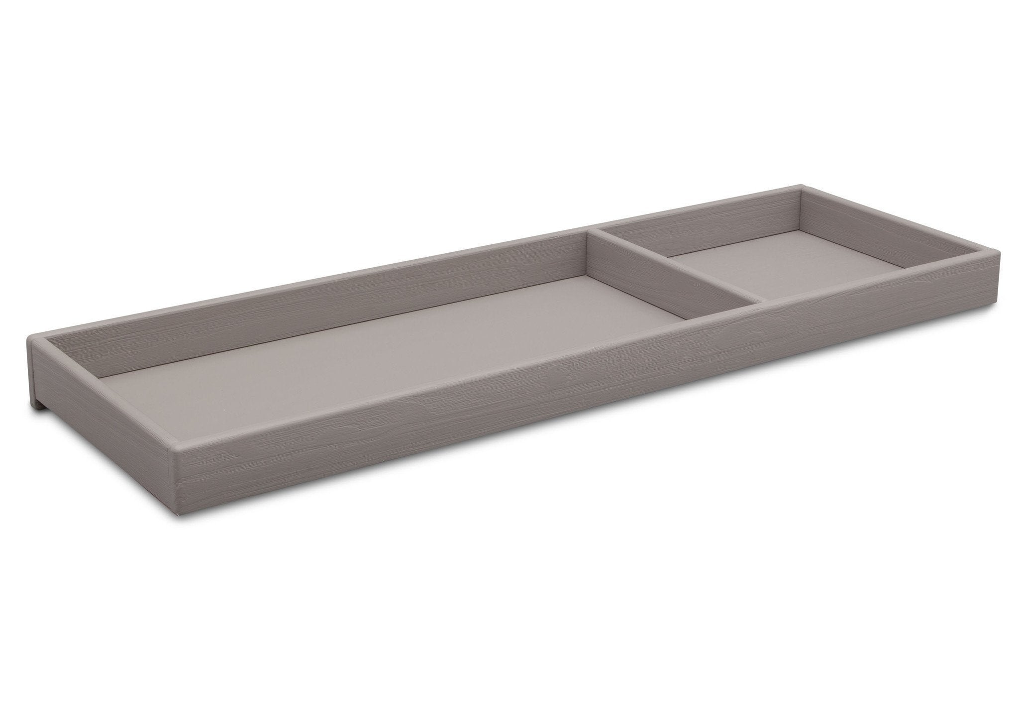 Simmons Kids Rustic Haze (940) Changing Tray side view b2b