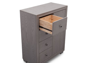 Simmons Kids Storm (161) Ravello 4 Drawer Combo Chest, Detail 2 View, b5b