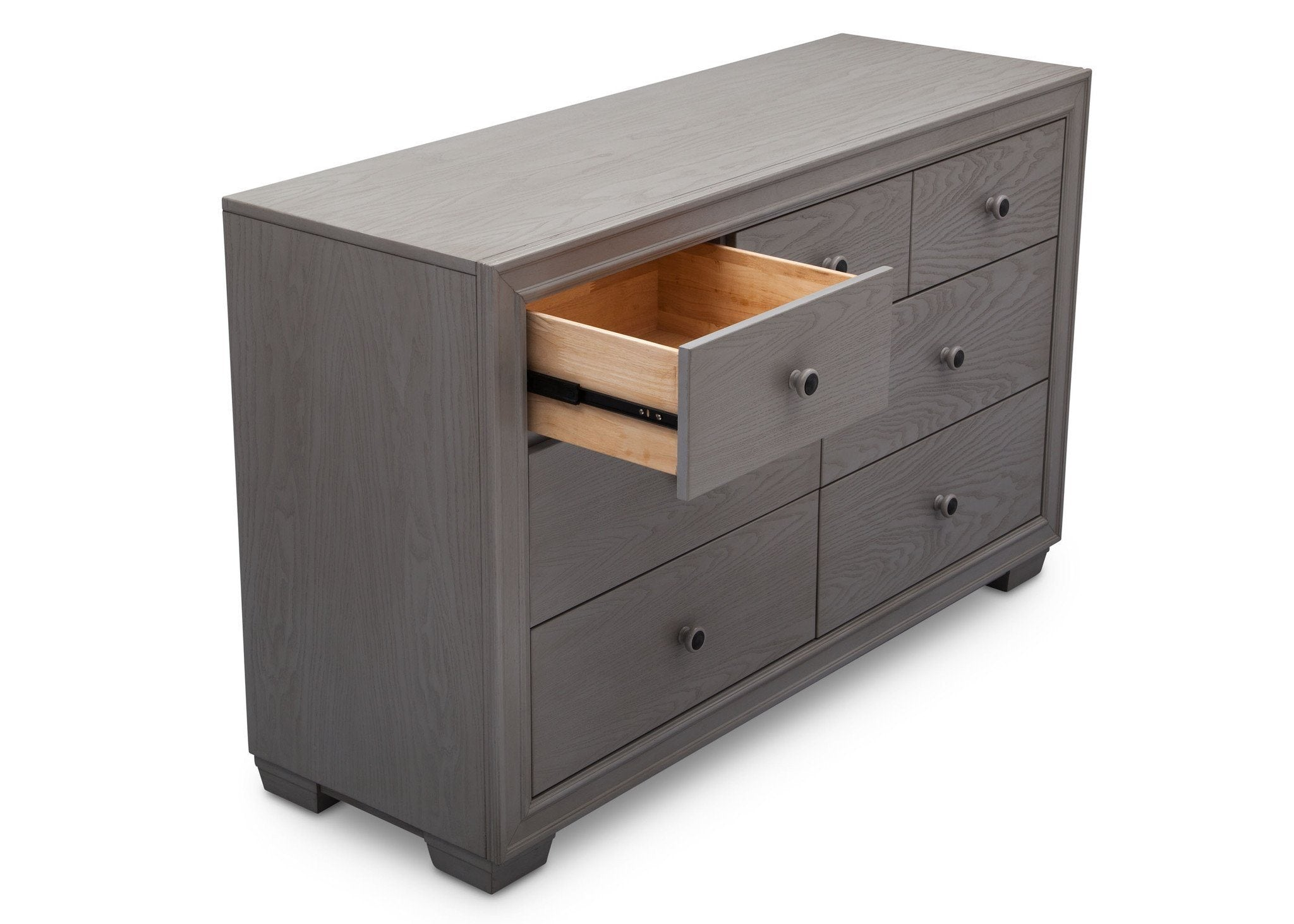 Simmons Kids Storm (161) Ravello 7 Drawer Dresser, Detail View, b4b