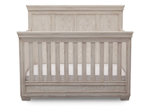 Simmons Kids Antique White (122) Ravello Crib 'N' More, Front View, b2b
