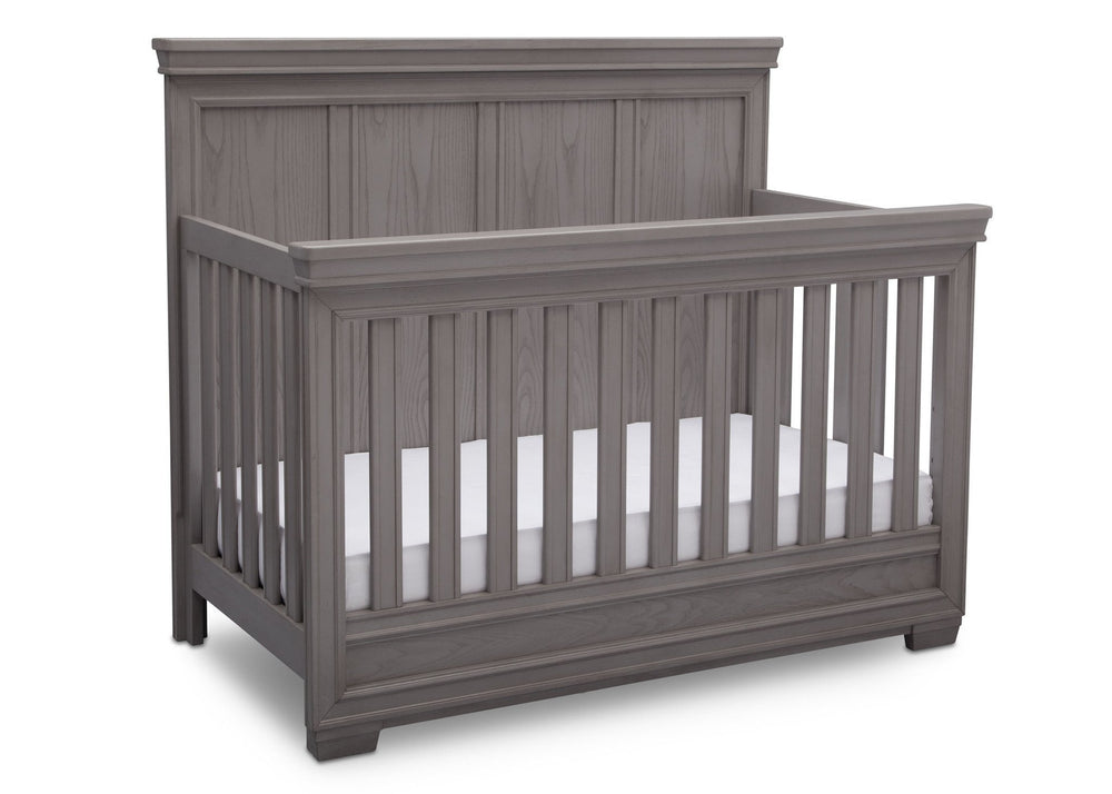 Simmons Kids Storm (161) Ravello Crib 'N' More, Angled View, a3a