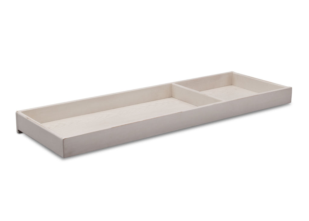 Simmons Kids Antique White (122) Ravello Changing Tray, Angled View, a2a