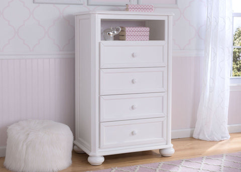 Peyton 4 Drawer Chest With Cubby