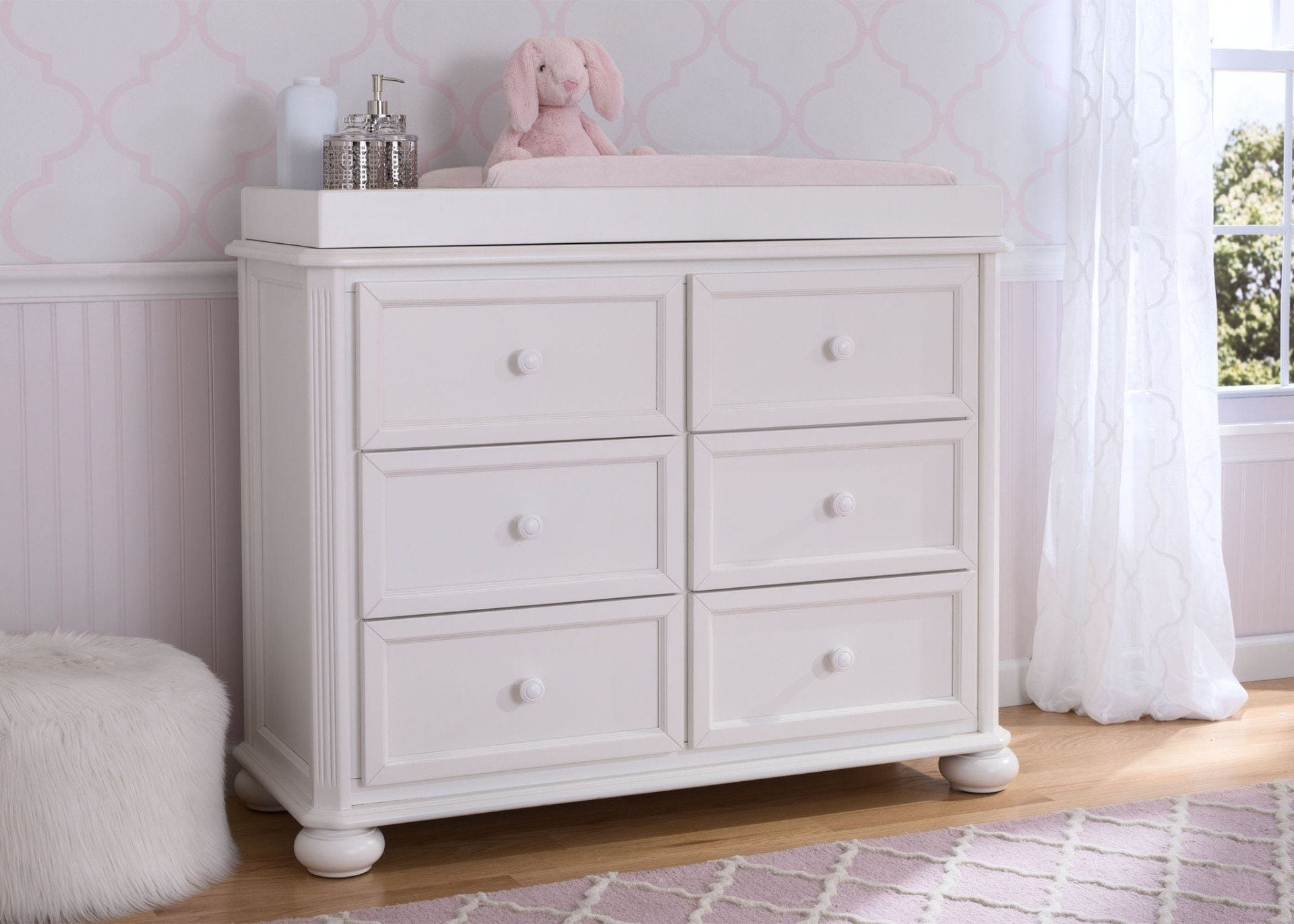 white kids kaleidoscope stipple classic amazon drawer for ameriwood baby home dresser dp com
