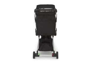 Jeep Jet Black (2095) Arrow Travel Stroller, Rear Silo View