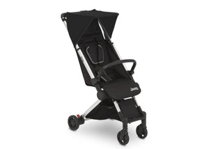 Jeep Jet Black (2095) Arrow Travel Stroller, Right Silo View