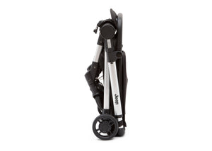 Jeep Jet Black (2095) Arrow Travel Stroller, Folded View