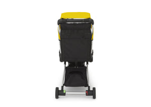 Jeep Yellow (2121) Arrow Travel Stroller, Rear Silo View