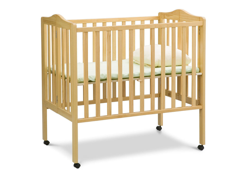 Delta Children Natural (260) Portable Crib (4472), Option 2 a3a