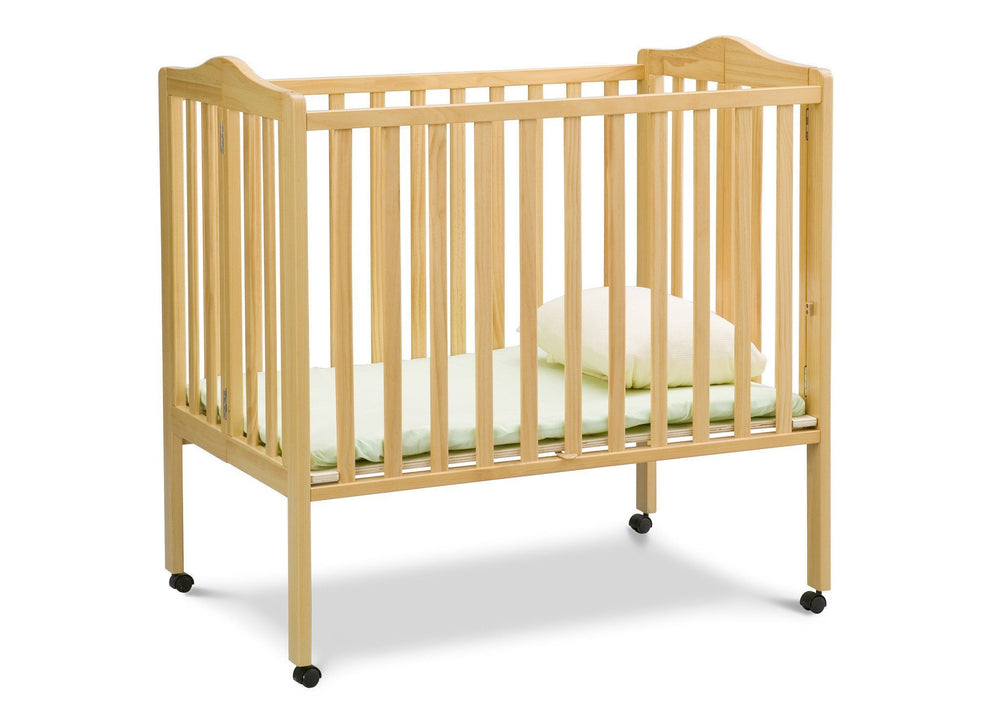 Delta Children Natural (260) Portable Crib (4472), Option 1 a2a