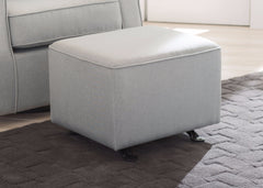 Delta Children Sea Breeze (465) Parker Nursery Gliding Ottoman with glider, hangtag, b1b