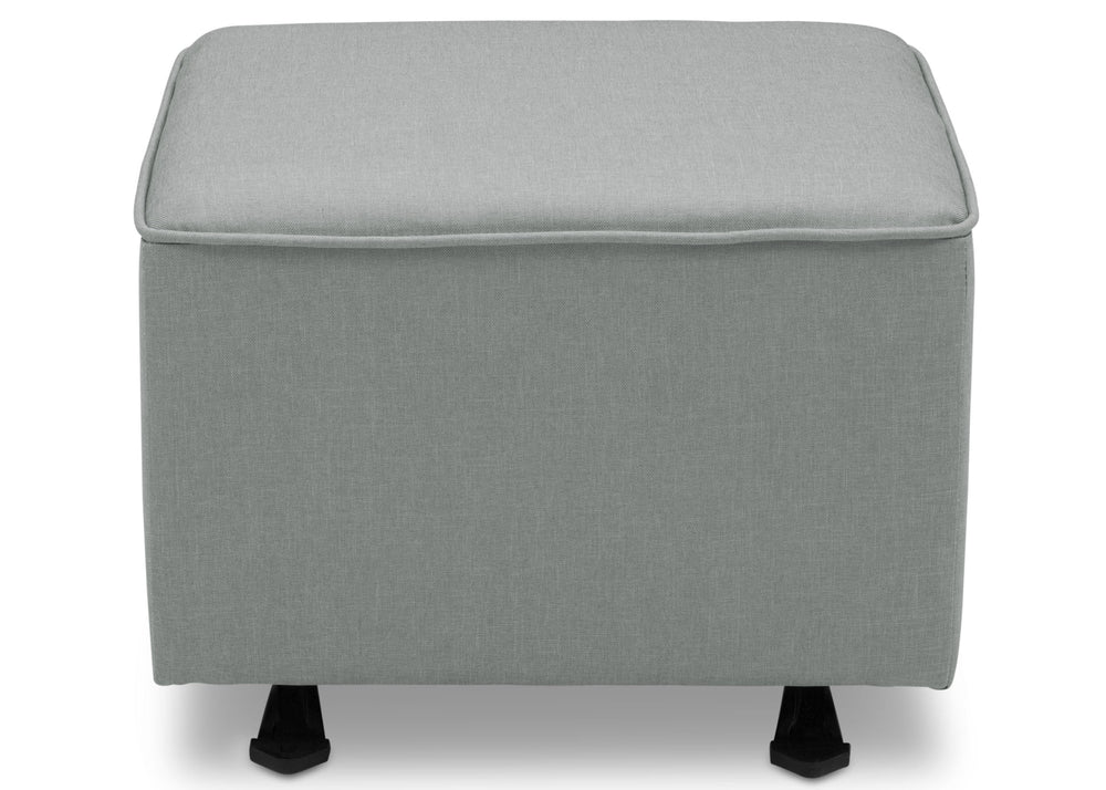 Delta Children Sea Breeze (465) Non Tufted Ottoman (501320), Front Silo c2c