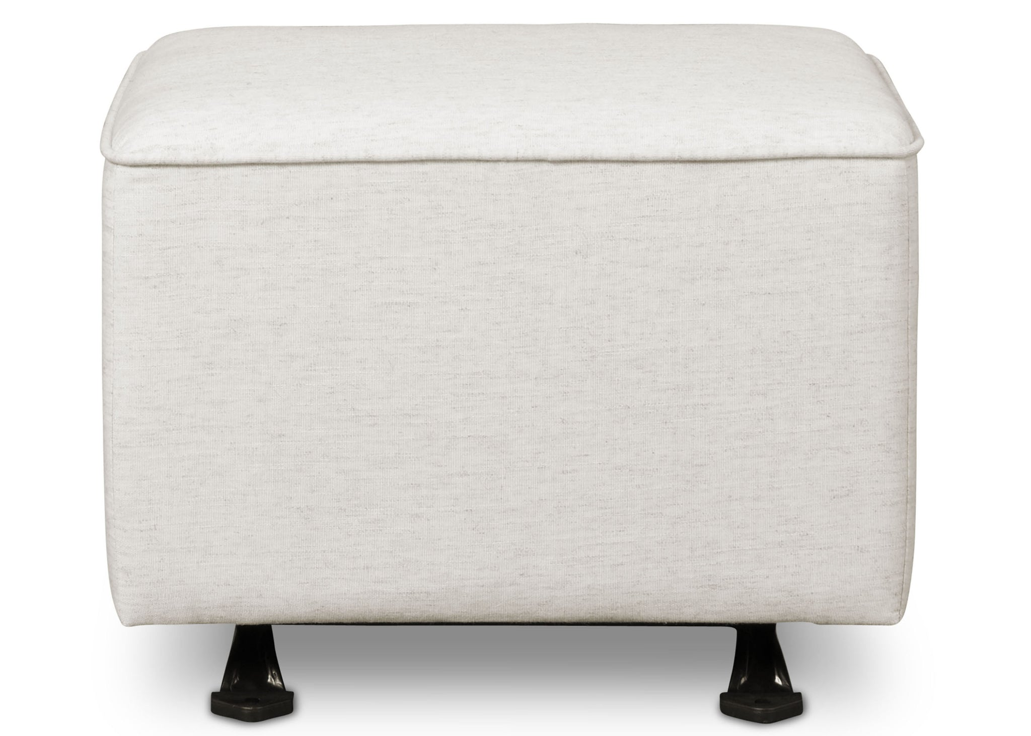 Delta Children Sand (921) Non Tufted Ottoman (501320), Front Facing d2d