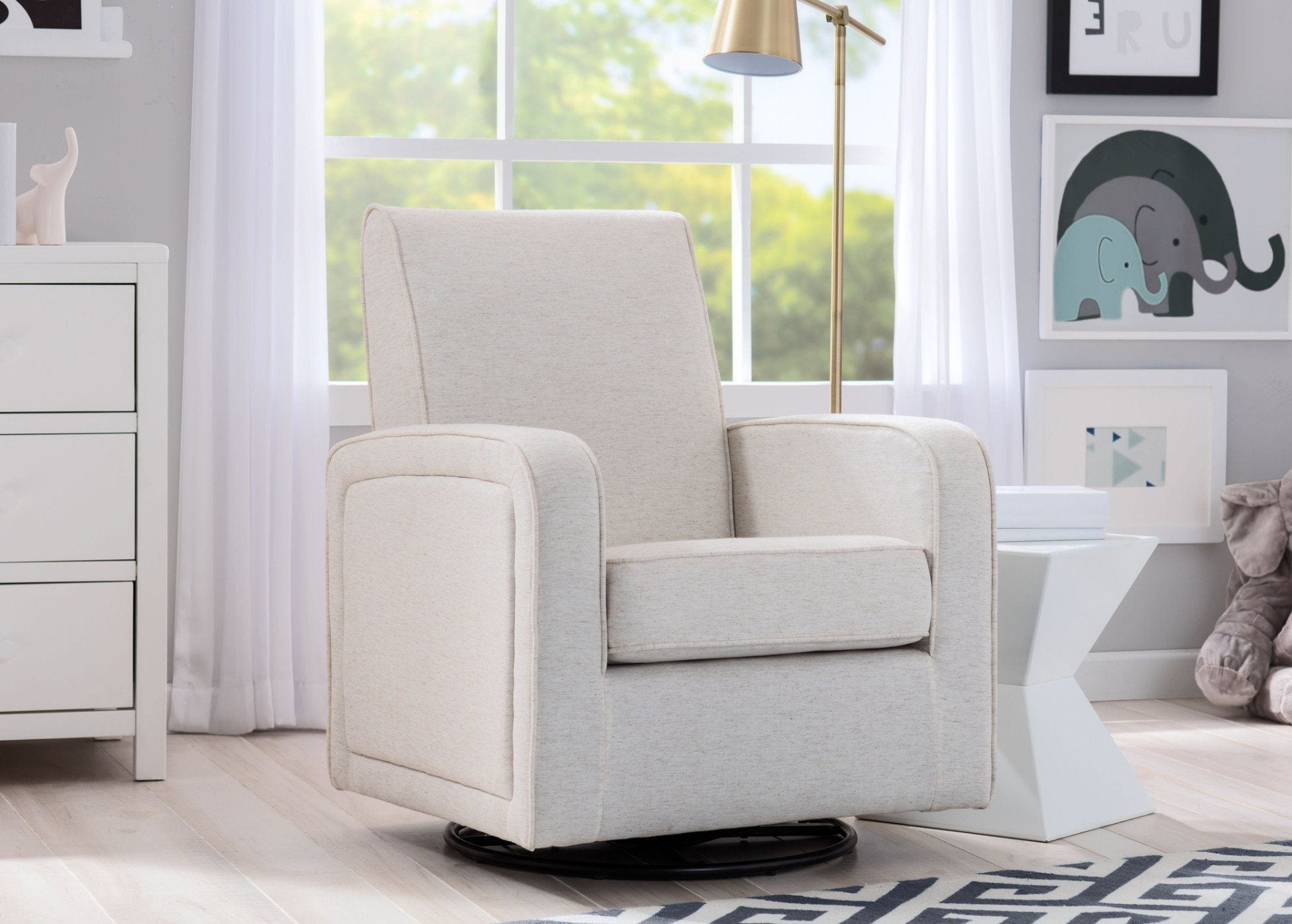 white item glider wood ottoman american chair room furniture set living and from ergonomic cushioned for chairs modern cushion gliders rocker with padded rocking nursery in