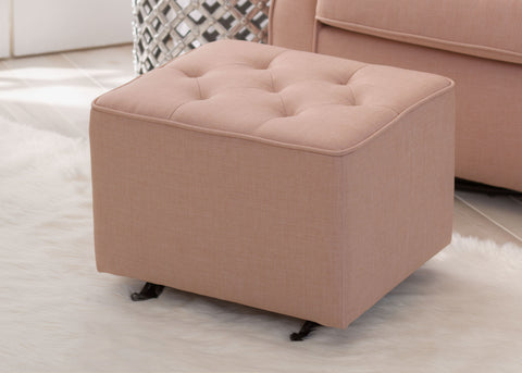 Emma Diamond Tufted Nursery Gliding Ottoman