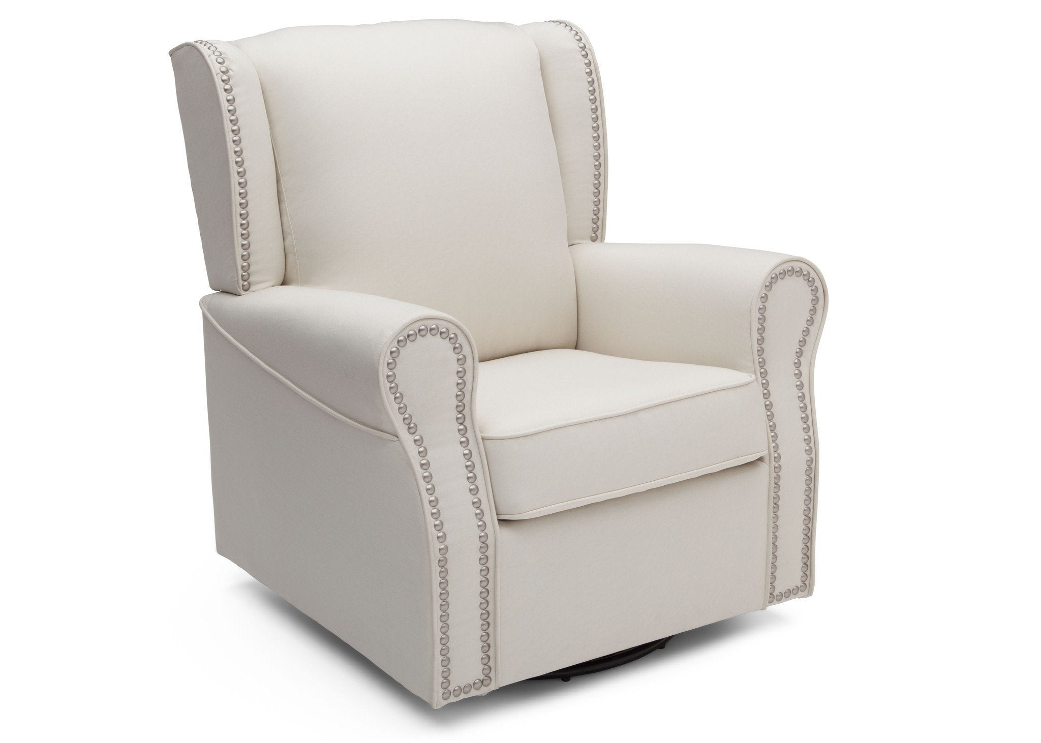 Delta Children Cream (743) Middleton Glider Right Facing View c3c