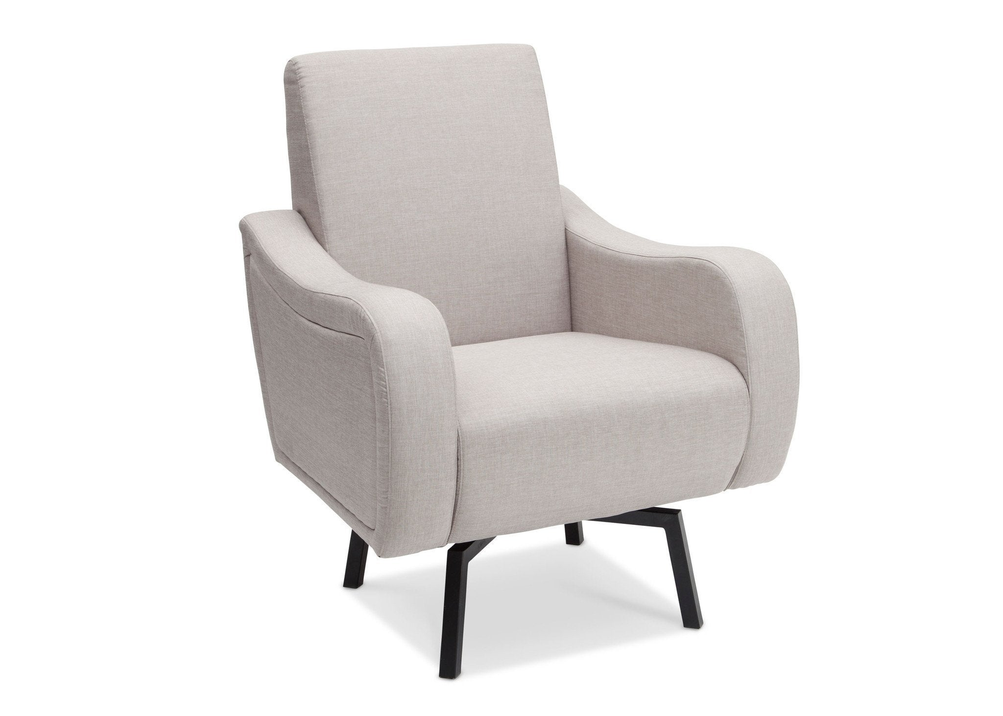 Delta Children Cool Grey (063) Lux Swivel Chair (51210) Side View