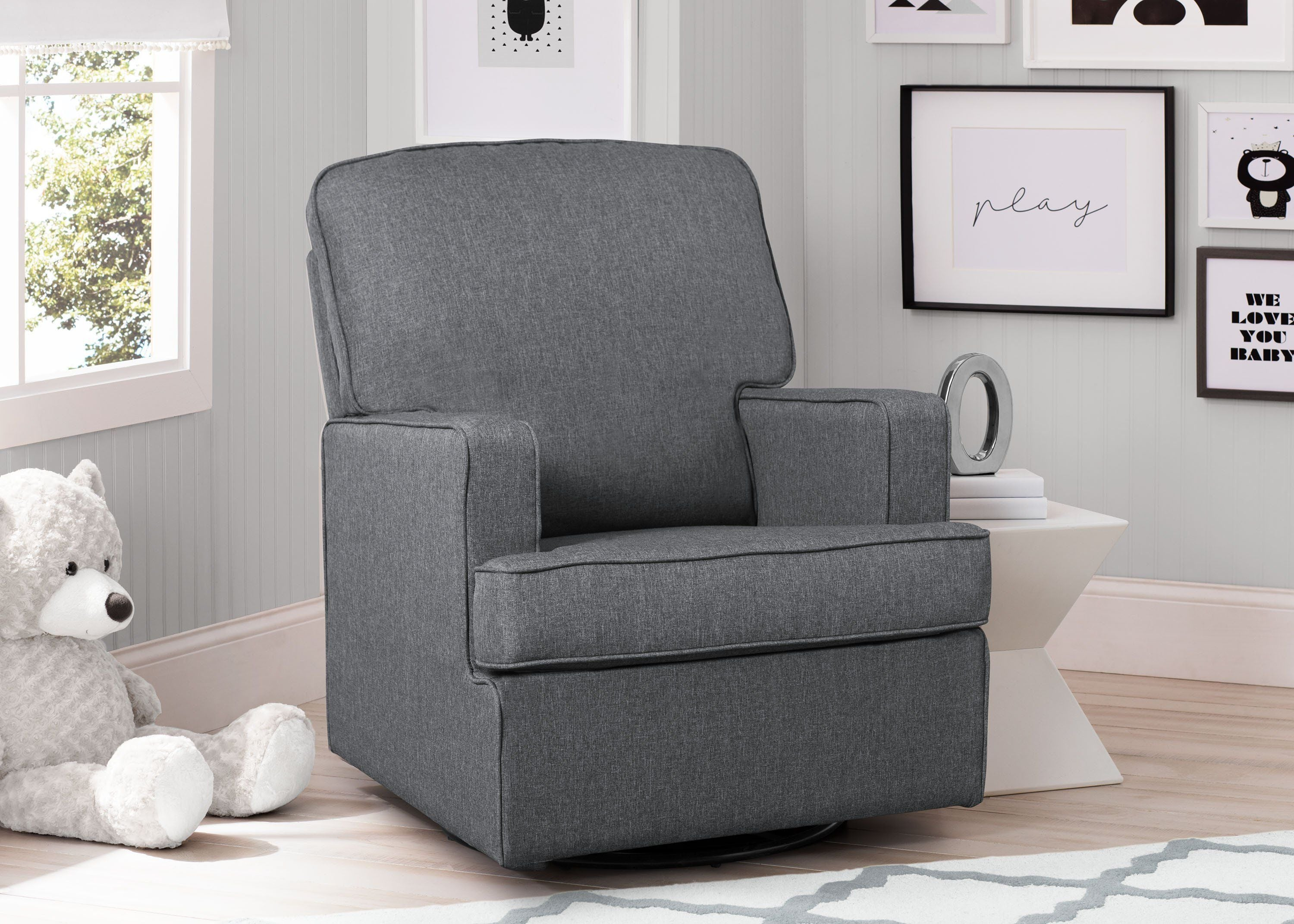swivel rocking intended for livings chairs black room awesome new hd leather rocker living