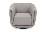 Delta Children French Grey (1304) Skylar Nursery Glider Swivel Rocker Tub Chair (521310), Straight, d3d