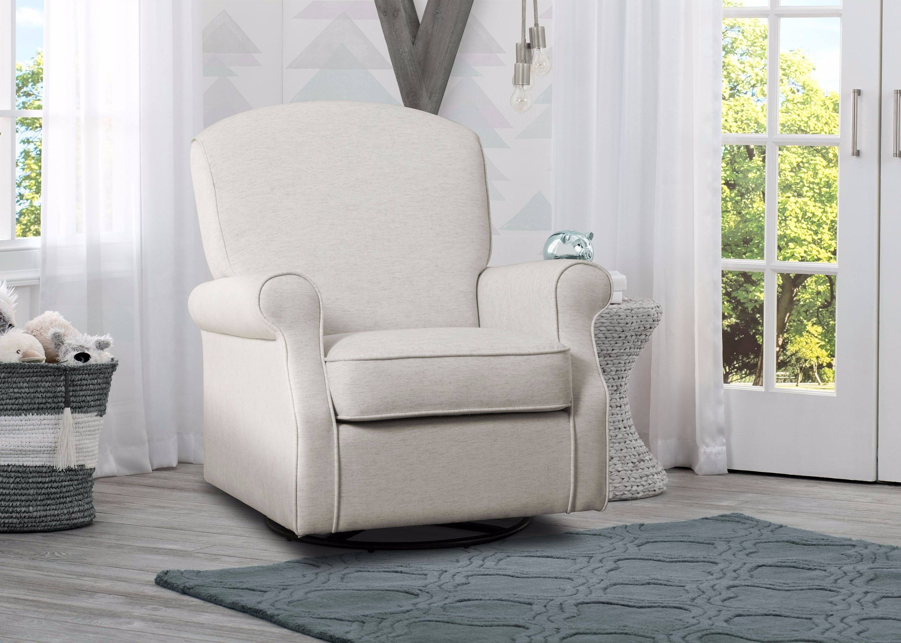 Parker Nursery Glider Swivel Rocker Chair | Delta Children