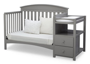 Delta Children Grey (026) Abby Crib N Changer, Daybed a5a