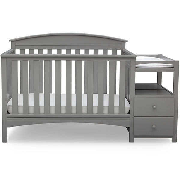 Abby Crib N Changer (Grey)
